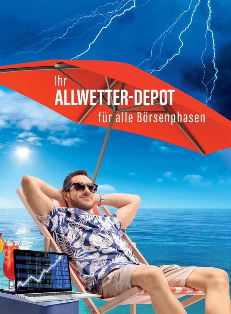 Das Allwetter-Depot für alle Börsenphasen der UFC GmbH. Ein wesentlicher Baustein der Altersvorsorge oder Studienfinanzierung der Kinder (Sparpläne).