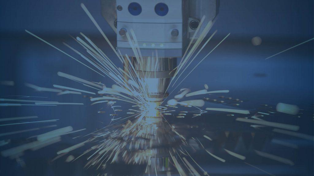 laser cutting. Metal